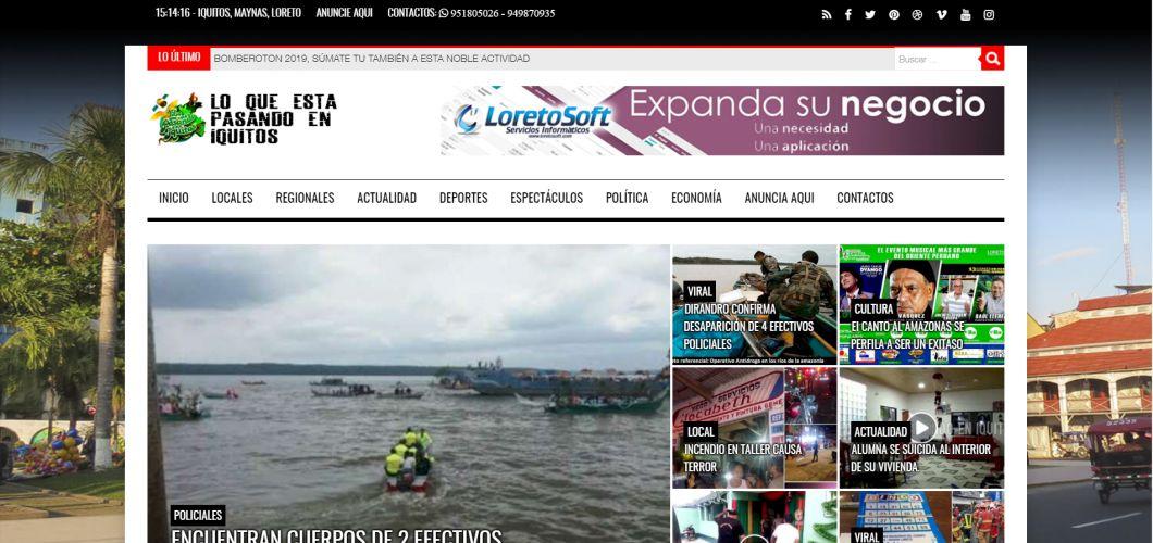 Lo que esta pasando en Iquitos